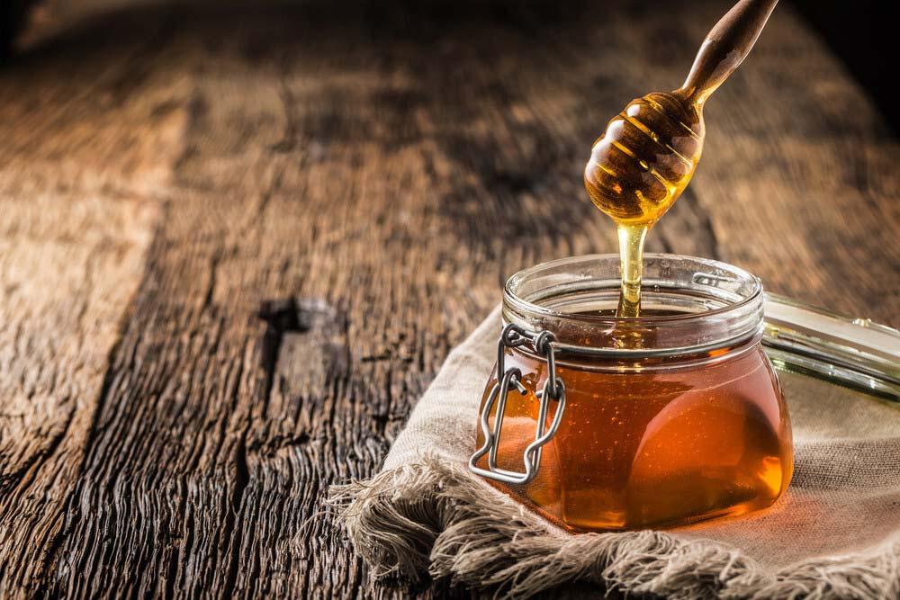 honey jar full of honey